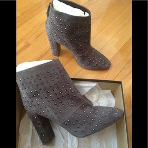 J Crew Suede Ankle Boot Size 10